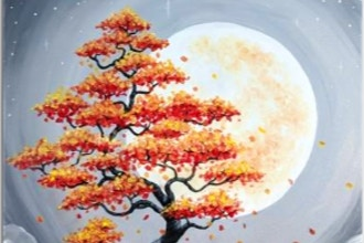 Paint Nite: Harvest Moon Bonsai
